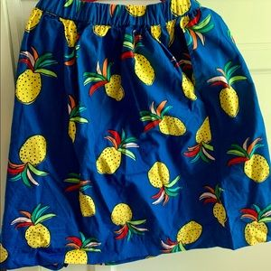 Hanna Andersson fruit skirt